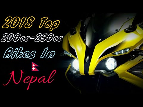 2018 Top 10 Best 200cc-250cc Bikes In Nepal