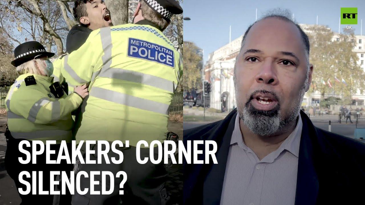 David Kurten on the arrest of a citizen for speaking at Speakers Corner