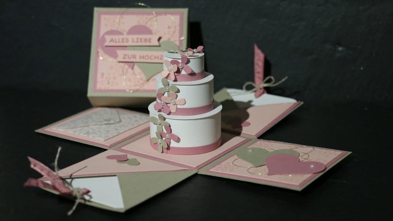 Explosionsbox zur Hochzeit Teil 1 mit Produkten von ...