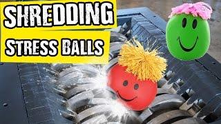 Shredding Stress Balls - Shredding Stuff