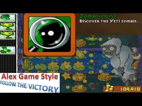 Plants Vs. Zombies - Achievement - Zombologist (Yeti Zombie Time 4-48) (Android Gameplay HD) Ep.76