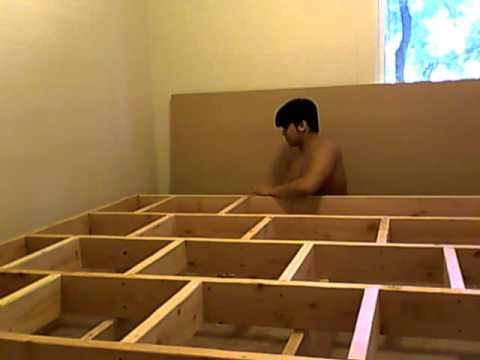 Building Platform Bed Frame Part 7 Of 10