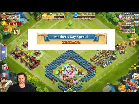 DONT MISS OUT Mothers Day 1 GEM BIG BOY Rewards Castle Clash