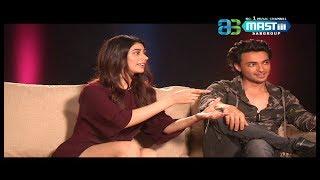 Exclusive Interview | Aayush Sharma & Warina Hussain | Loveyatri