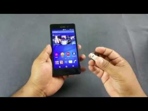 Sony Xperia M4 Aqua Dual USB OTG Support