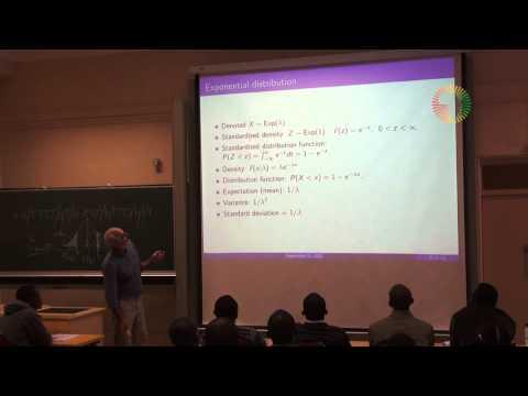 DAY5/14 Probability & Statistics with Prof David Spiegelhalter