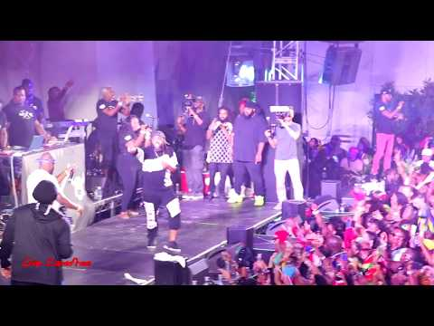 Buss Head NYC Performance Machel Montano & Bunji Garlin 2017