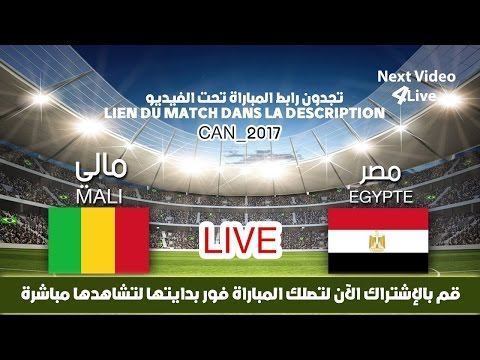 Mali Vs Egypte  LIVE