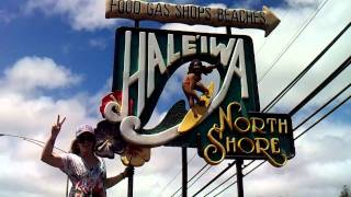 Welcome to the North Shore Famous Surfing Sign!!! SMILE :)