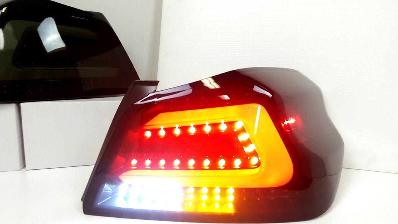 2015 Subaru Wrx Ar Sequential Smoke Led Tail Light By Ct Autoparts Wiring Kit Iowa80com