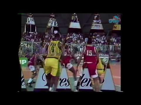 LOS MINA vs SAN CARLOS 1993 - Baloncesto Dominicano