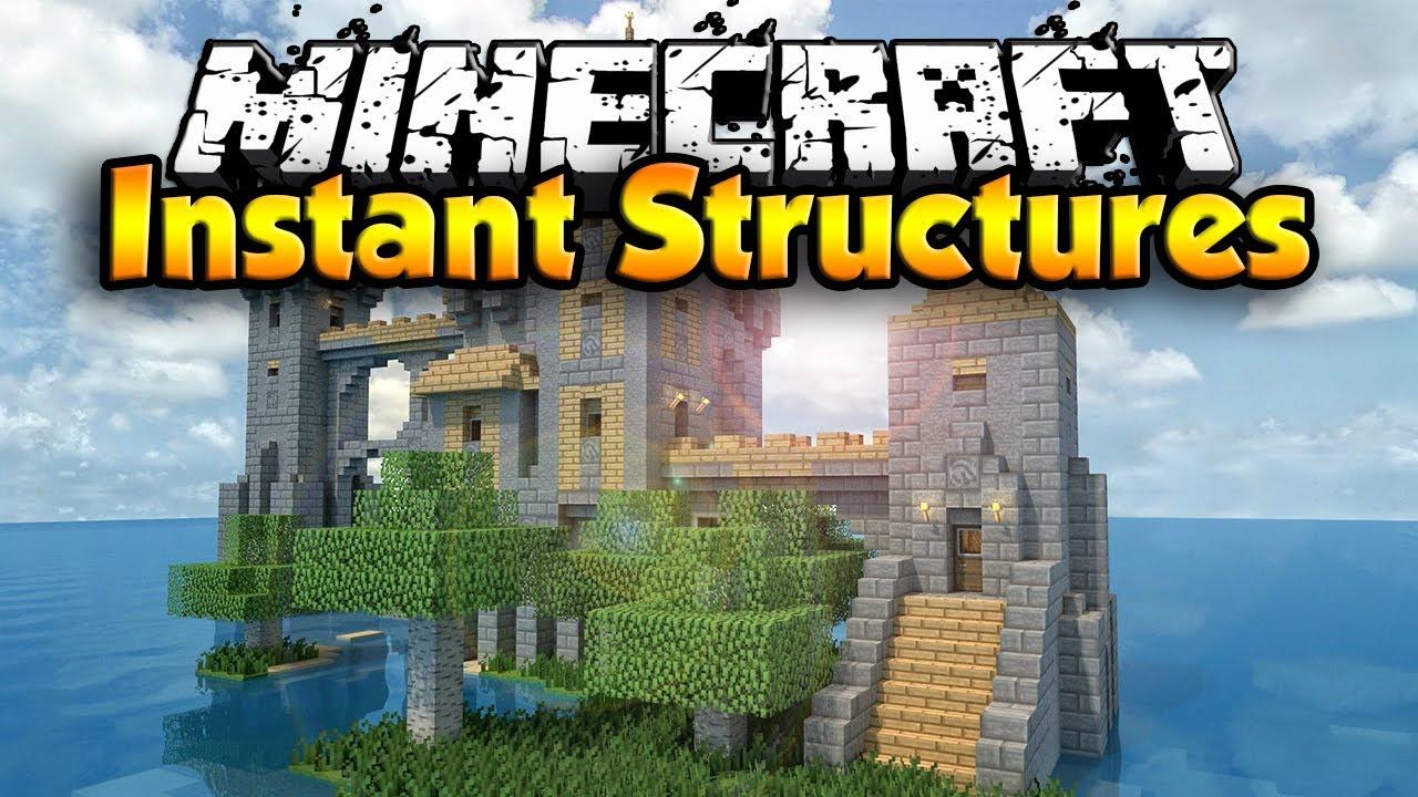 Скачать Instant Structures для Minecraft 1.7.10