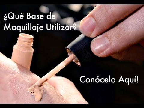 ¿Qué base de maquillaje utilizar? ¿Las mejores marcas? I CURSO DE MAQUILLAJE PROFESIONAL ONLINE , YouTube