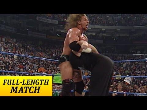 FULL-LENGTH MATCH - SmackDown - Triple H vs. Tazz