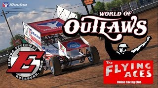 iRacing Live: ELDORA - 305 Sprint Dirt - The Flying Aces