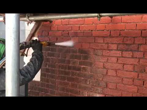 soft sodablast red brick cleaning london