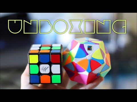 YueXiao EDM 3x3 + Rediminx Unboxing | Moyu