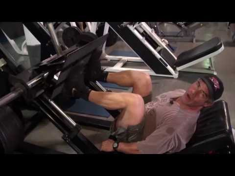 Rory Love 1000lbs Leg Press Demostration for Silver Gate Elementary School