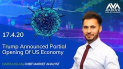 17.04.2020 | Coronavirus Update: Trump Announced Partial Opening Of US Economy