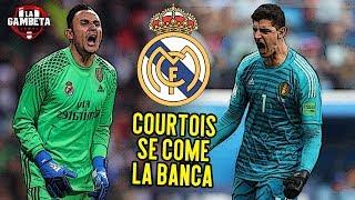 La polémica razón de por qué Courtois no ha iniciado aún un partido con el Real Madrid