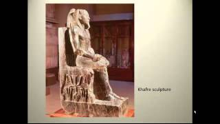 Ancient Egyptian sculpture(This lecture introduces not only Egyptian sculpture but Egyptian iconography, which is critical to the understanding of these works., 2013-09-01T17:53:18.000Z)