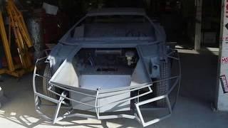 $60 Pontiac Fiero 1987 Transformed into a Lamborghini Reventon