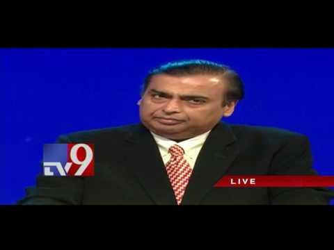 Mukesh Ambani speaks at Reliance Industries AGM 2017 - TV9