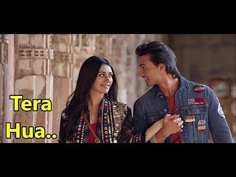Tera Hua: Atif Aslam | Loveratri |Tanishk Bagchi | Manoj Muntashir| Lyrics |New Bollywood Song 2018