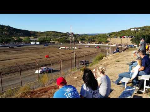 Barona Speedway 5-20-2017 Pure Stock Heat