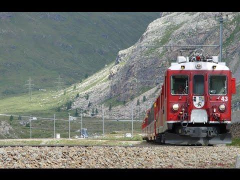 084 RHB Berninabahn Summer 2005 (1) from Pontresina to Ospizio Bernina - BEST BERNINA on YouTube