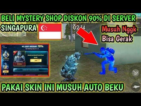 KEREN BANGET!!! BORONG MYSTERY SHOP SERVER SINGAPURA!!!MUSUH JADI BEKU AUTO BOOYAH
