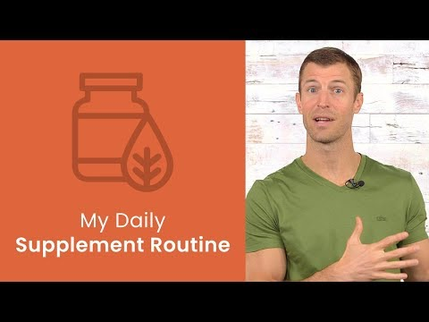 My Daily Supplement Routine  Dr Josh Axe