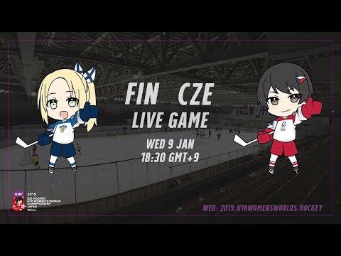 Live Stream Finland Vs. Czech Republic - 2019 IIHF Ice Hockey U18 Women's World Championship