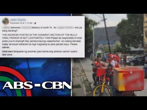 TV Patrol: Kumakalat na address ng 'Ateneo bully,' tirahan pala ng pastor