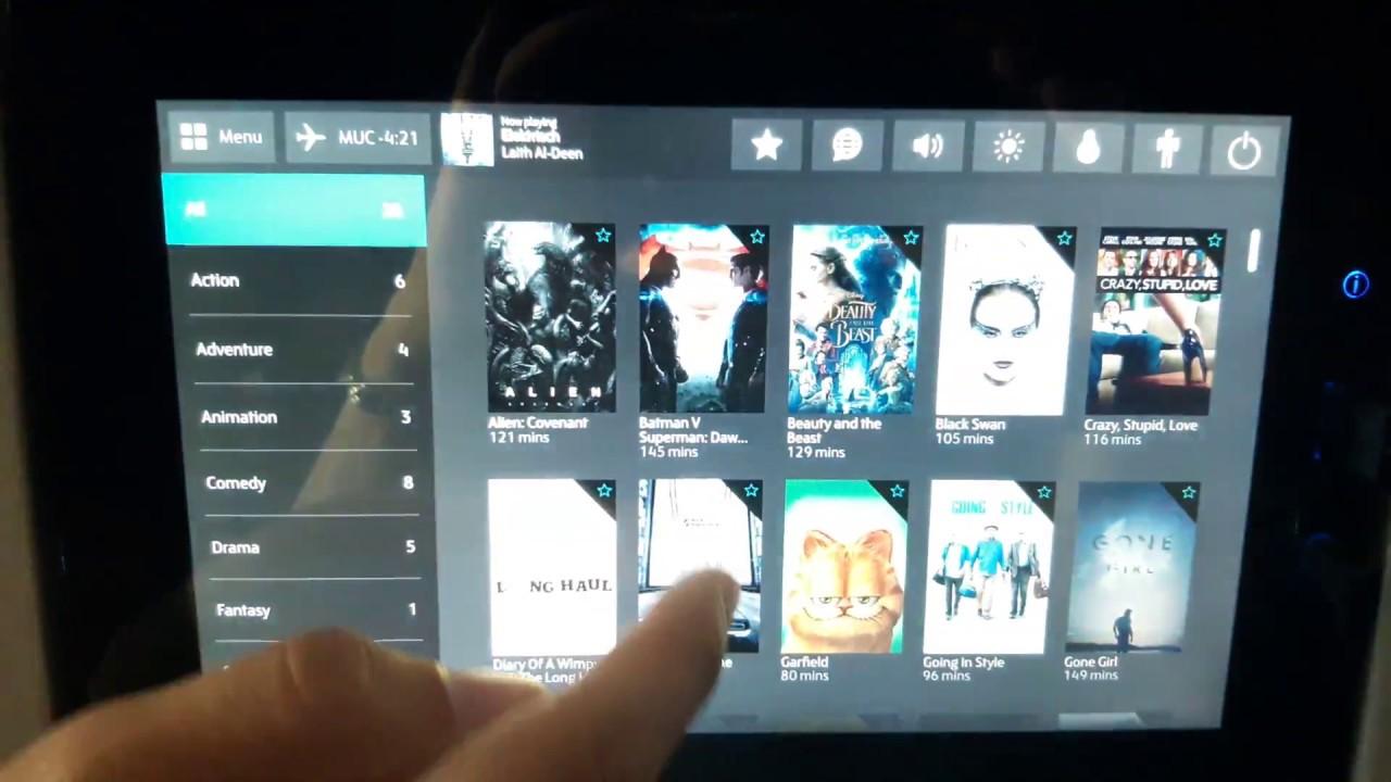 In-flight entertainment system hack - free movies on Condor flights