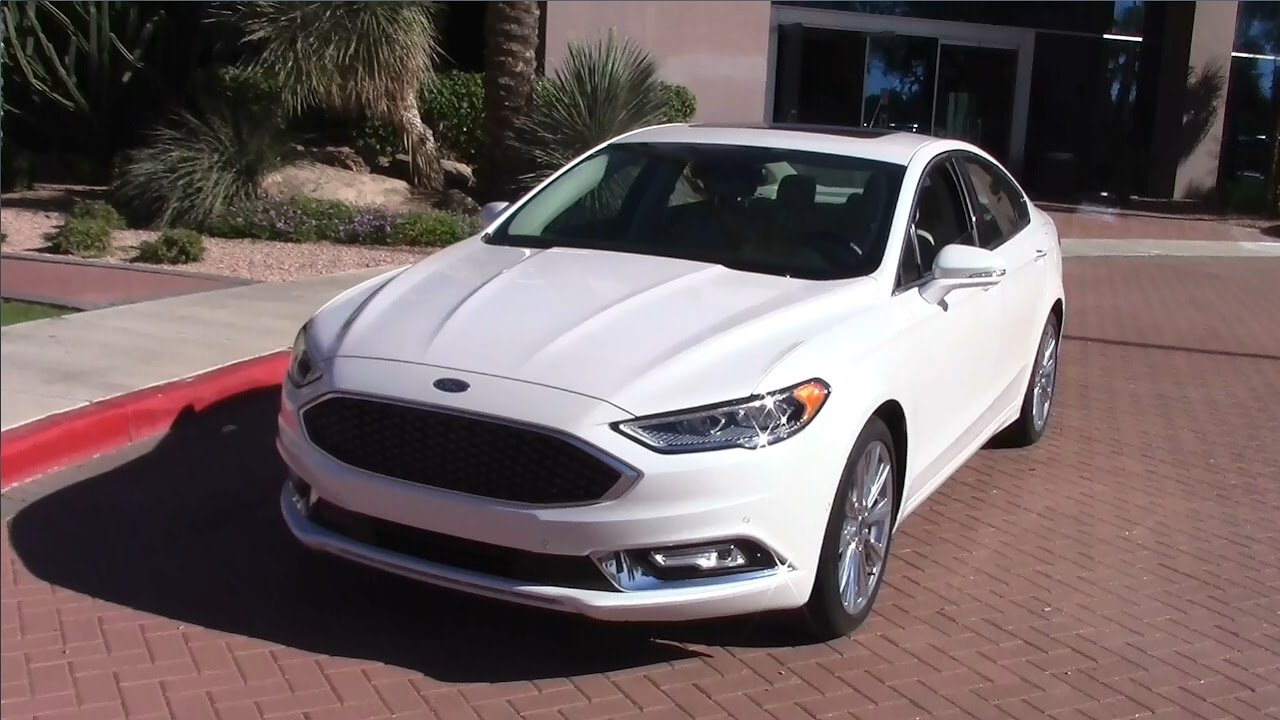 2017 Ford Fusion Ecoboost Performance Fuel Economy Test