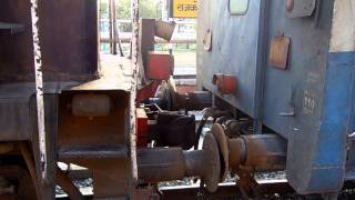 EXCLUSIVE COUPLING OF LOCO AT RAJKOT RAILWAY STATION