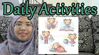[LEARN MALAY] 121-Daily Activities