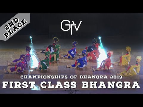 First Class Bhangra – Second Place – Championships of Bhangra 2019