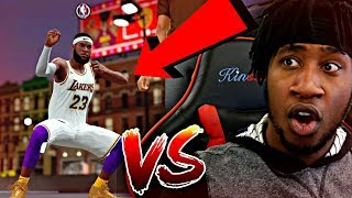 LEBRON JAMES PULLED UP ON ME AGAIN! #1 PLAY SHARP IN THE WORLD TOOK HIS ANKLES! - NBA 2K19 MyPARK