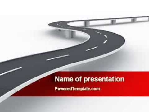 road overpass powerpoint templatepoweredtemplate - youtube, Modern powerpoint