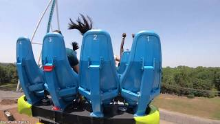 Fury 325 (On-Ride Back 4K) Carowinds