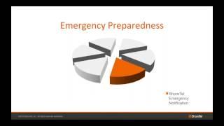ShoreTel Emergency Notification System
