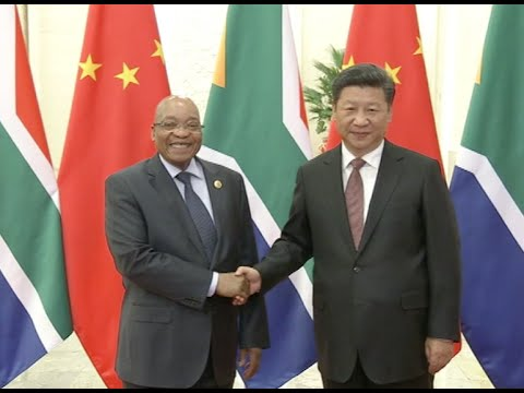Xi Meets South African President in Beijing, Vows to Make China-Africa Summit Successful