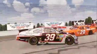 NASCAR The Game 2011 Flips and Crashes #2