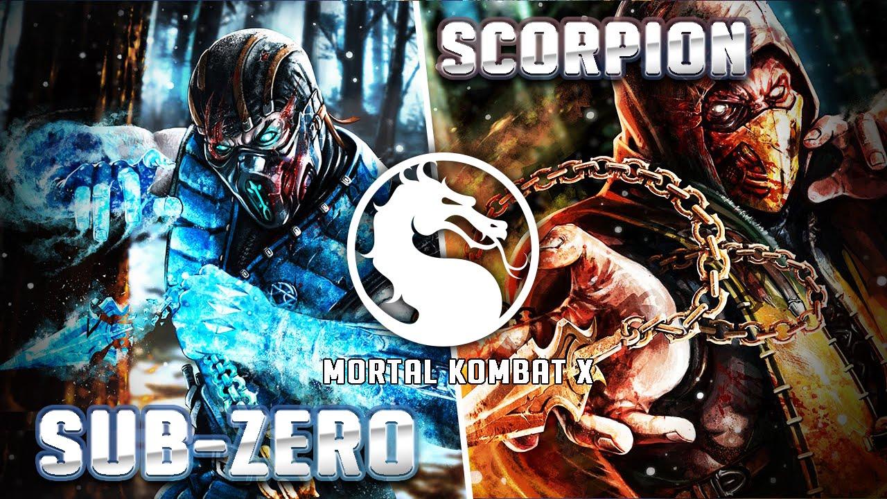 Sub Zero Vs Scorpion Mortal Kombat X Gameplay Iphone Ipad