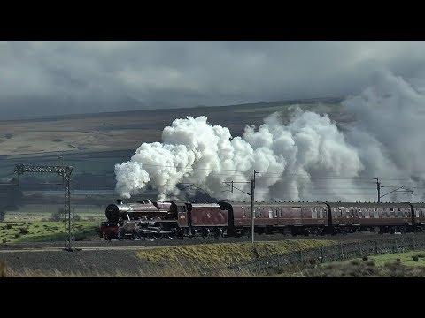 (45699) A Jubilee Masterclass Over Shap - The Winter Cumbrian Mountain Express 2018