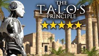Видео обзор геймплея The Talos Principle (pc, 2014 - 2015, отзыв, прохождение игры Принцип Талоса)