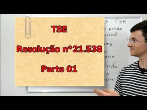 Resolução 21538 - TSE - parte 01