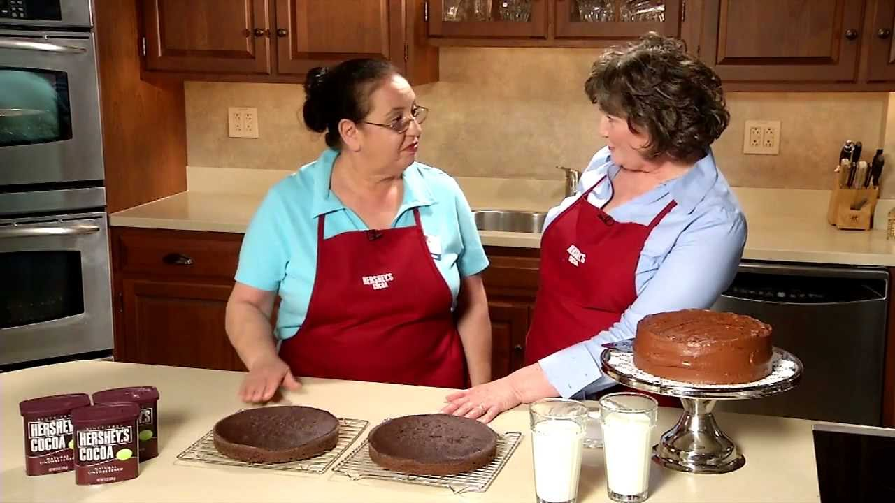 Hershey S Old Fashioned Chocolate Cake Recipe
